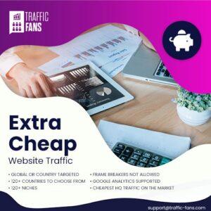 Cheap Website Traffic